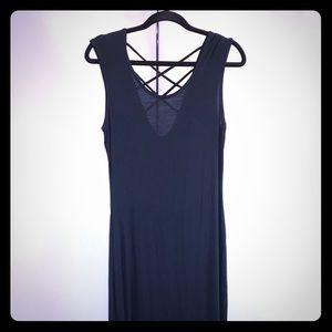 Rolla Coster Black Women's Maxi Dress Size L #0256